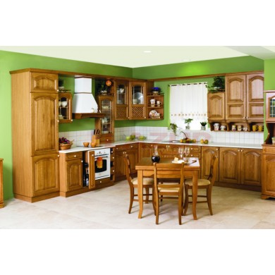 кухня рустик