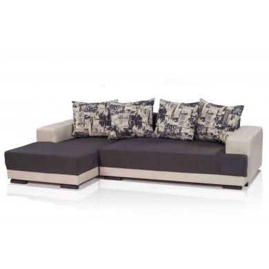 Ъглов диван Санта Фе с функция сън и ракла