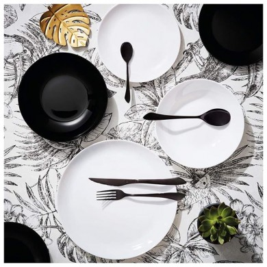 Сервиз за хранене Luminarc Diwali Black&White 19 части