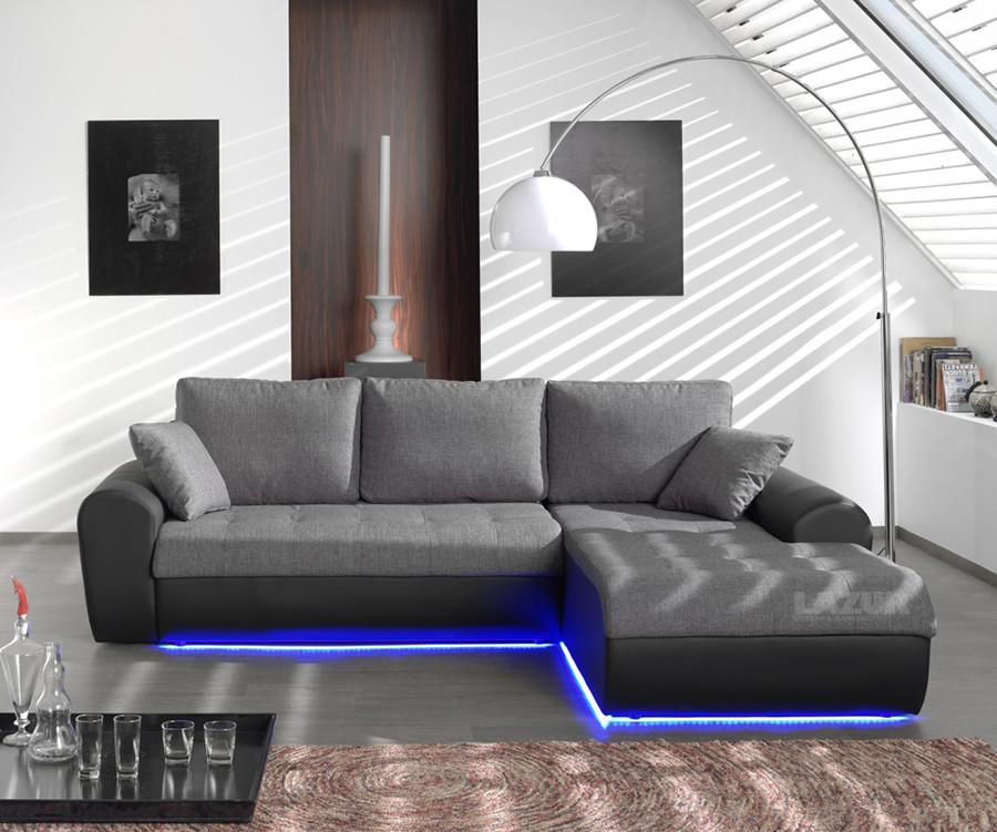 ъглов диван Флаш с LED осветление